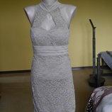 Плаття нарядне як кружевне приблизно на 44 наш розмір Konela