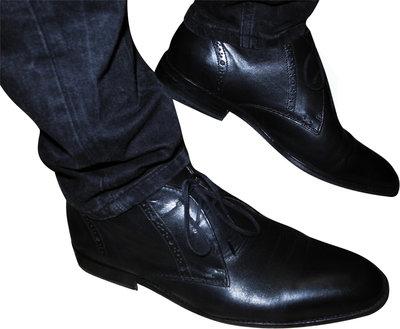 0373247f9 Мужские кожаные туфли черные Kurt Geiger 43: 1200 грн - туфли в ...