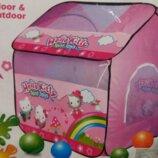 Большая детская игровая палатка Hello Kitty Хелло Китти A999-208, 103 109 116