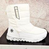 Зимние женские ботинки Situo white