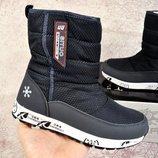 Зимние женские ботинки дутики Situo Snowboot dark blue