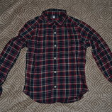 рубашка мальчику Uniqlo на 9-10 лет рост 134-140 Япония хлопок