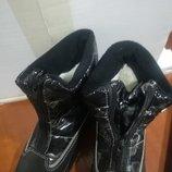 Термо ботинки термики Эльфей Украина 26 размер для девочки, зимние сапоги для девочке на овчинке