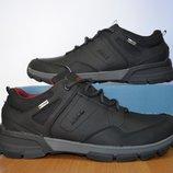Кожаные мужские кроссовки Ecco.