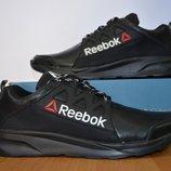Кожаные мужские кроссовки Reebok.