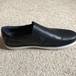 Мужские туфли слипоны осень кожа рр45