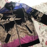 Стильная и яркая кофта на молнии New Fashion