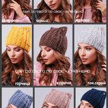 Женская шапка кошка, вязаная шапка ушки. молодежная шапка. теплая шапочка.женская шапка