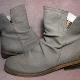Трендовые ботинки сапожки нубук