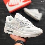 Топ качество. Бесплатная доставка. Кроссовки Nike Air Max белые KS 610