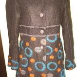 L- M пальто шерсть Carna By Made in Italy шерсть