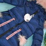 зимняя курточка для девочки .модель 4-12 лет. Венгрия