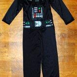 костюм 7-8 лет Starwars George Дарт Вейдер звездные войны