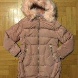 Куртка холодная осень/зима 128/134,140,146рр