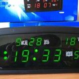 Часы с термометром 909 настольные электронные будильник