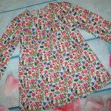 Вельветовое платье с длинным рукавом TU 4-5лет