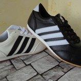Кожаные кроссовки Adidas 2 цвета