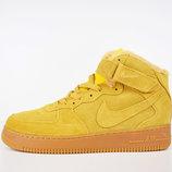 Зимние мужские кроссовки Nike Air Force ginger
