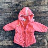 Куртка ветровка Adidas, оригинал, на девочку 12-18 месяцев