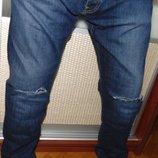 Стильние фирменние брендовие джинси Jack & Jones .л-хл 34 .