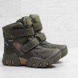 Зимние ботинки Clibee,на меху 27-32,хаки