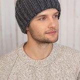 мужская вязаная шапка Лестер 4625