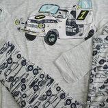 Пижама т рикотажная Grey Car Primark