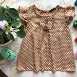 Легкая блуза футболка George 4-5 лет