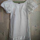 Ніжна біла сукня