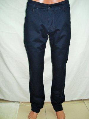 Джинсы -брюки мужские для школы,офиса,Luwan s 0090 зауженные,чёрные 27,29,30,31