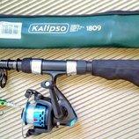 Спининг Kalipso карманный Суперкомпактный катушка воблер.