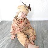 прокат карнавальный костюм оленя, олененка 3-4 года новогодние,на утренник