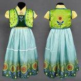 Карнавальный костюм С 23000 120 Принцесса Анна размер - S , рост - 110см