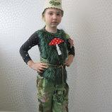 прокат карнавальный новогодний костюм Леший Домовенка, Лешего лісовика Хэллоуин