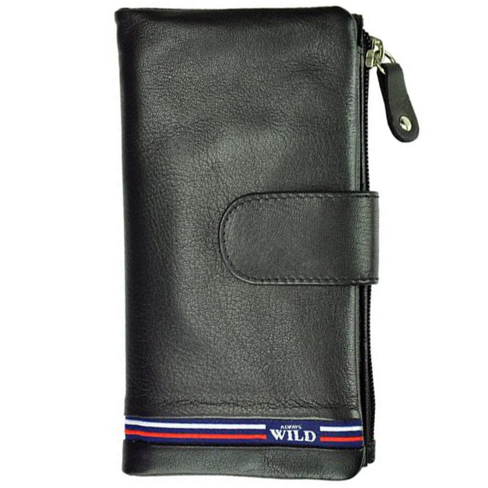 e78685ac6154 Женский кожаный кошелек Always Wild N502-GV Black: 482 грн - кошельки в  Запорожье, объявление №18868086 Клубок (ранее Клумба)