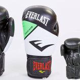 Перчатки боксерские на липучке Elast 6748 10-12 унций, кожа 2 цвета
