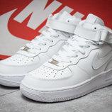 Кроссовки Nike Air , белые, стелька 25,5 см новинка ботинки хайтопы унисекс