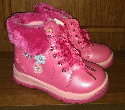 d580a69efdea79f Детские сапоги для девочек на шнуровке размеры 22 - 27 : 300 грн ...