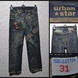 Брендові штани джинсові чоловічі Today's Urban Star W31 Німеччина брюки мужские
