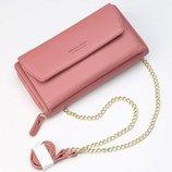 Женский клатч сумочка Baellerry Leather rose