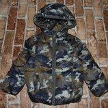 куртка деми 4-5лет балон синтапон большой выбор одежды 1-16лет