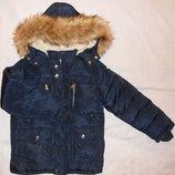 Куртки зимние для мальчиков, 4 - 14 лет, Венгрия