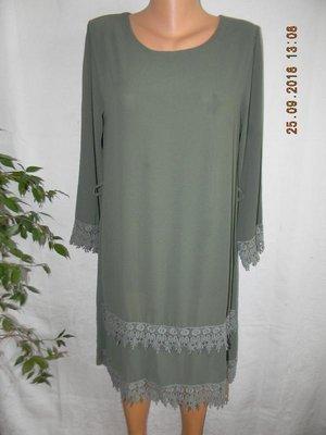 Платье с кружевом италия