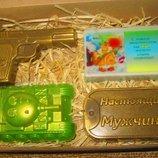 Подарочные наборы мыла ручной работы ко Дню защитника Украины 14 октября