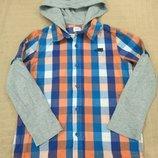 Продам в идеальном состоянии,фирменную F&F,красивую рубашку обманку,5-7 лет.
