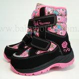 Зима термо сапоги B&G р.24 ботинки