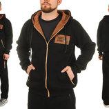Стильный теплый спортивный мужской костюм 48-56