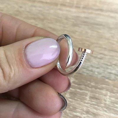 серебряное кольцо гвоздь  16a8cc32a88a7