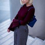 Ava june шикарная трендовая блузка с плиссированными деталями