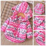 Куртка Зима малина 410080 яркая куртка для девочки,зимняя куртка деми курточка